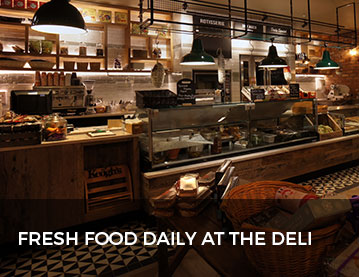 Fresh Food Everyday at The Deli Counter